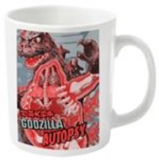 GODZILLA, GODZILLA AUTOPSY - MUG (11oz) (Brand New Sealed In Box)